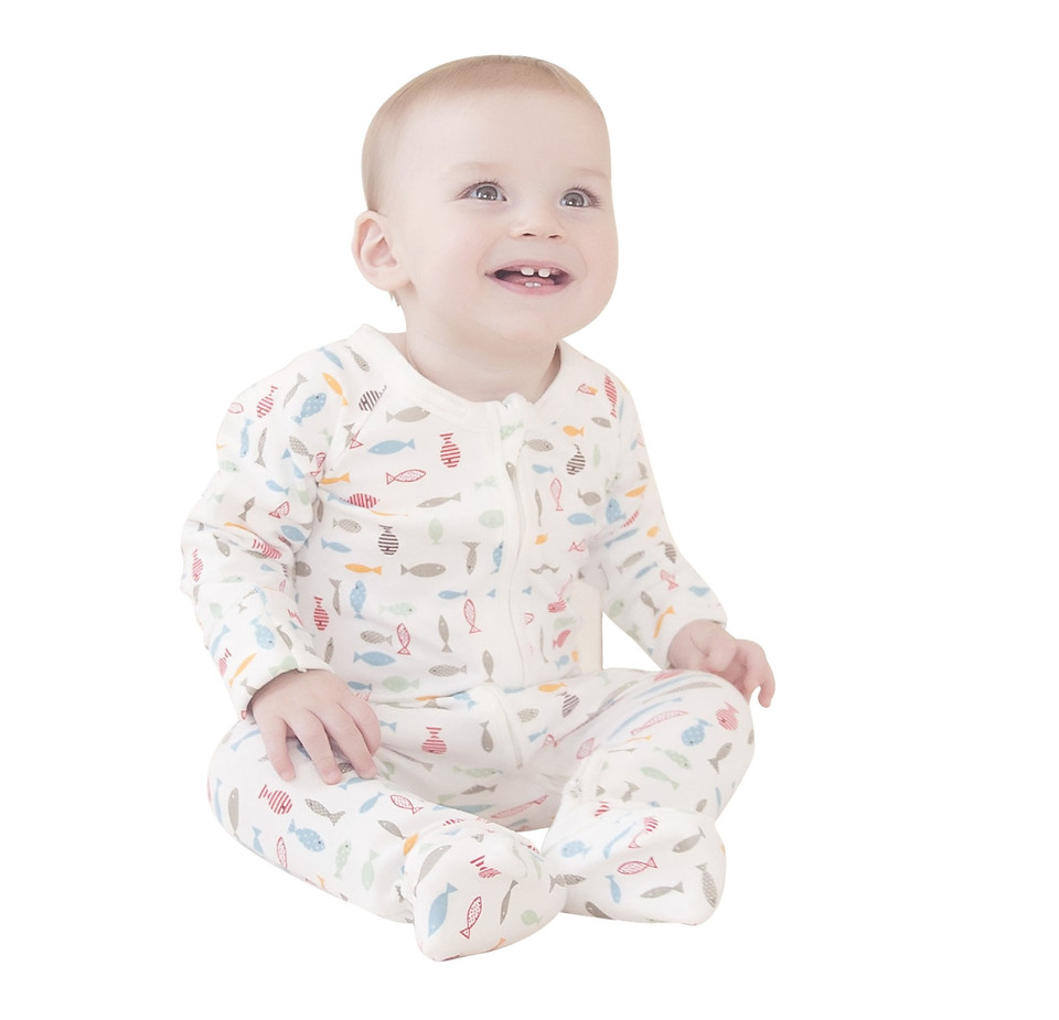 Baby Footed Pajamas Lovely Baby Boys Pajammie Zipsuit Bamboo organic Cotton Footed Of Amazing 42 Pictures Baby Footed Pajamas