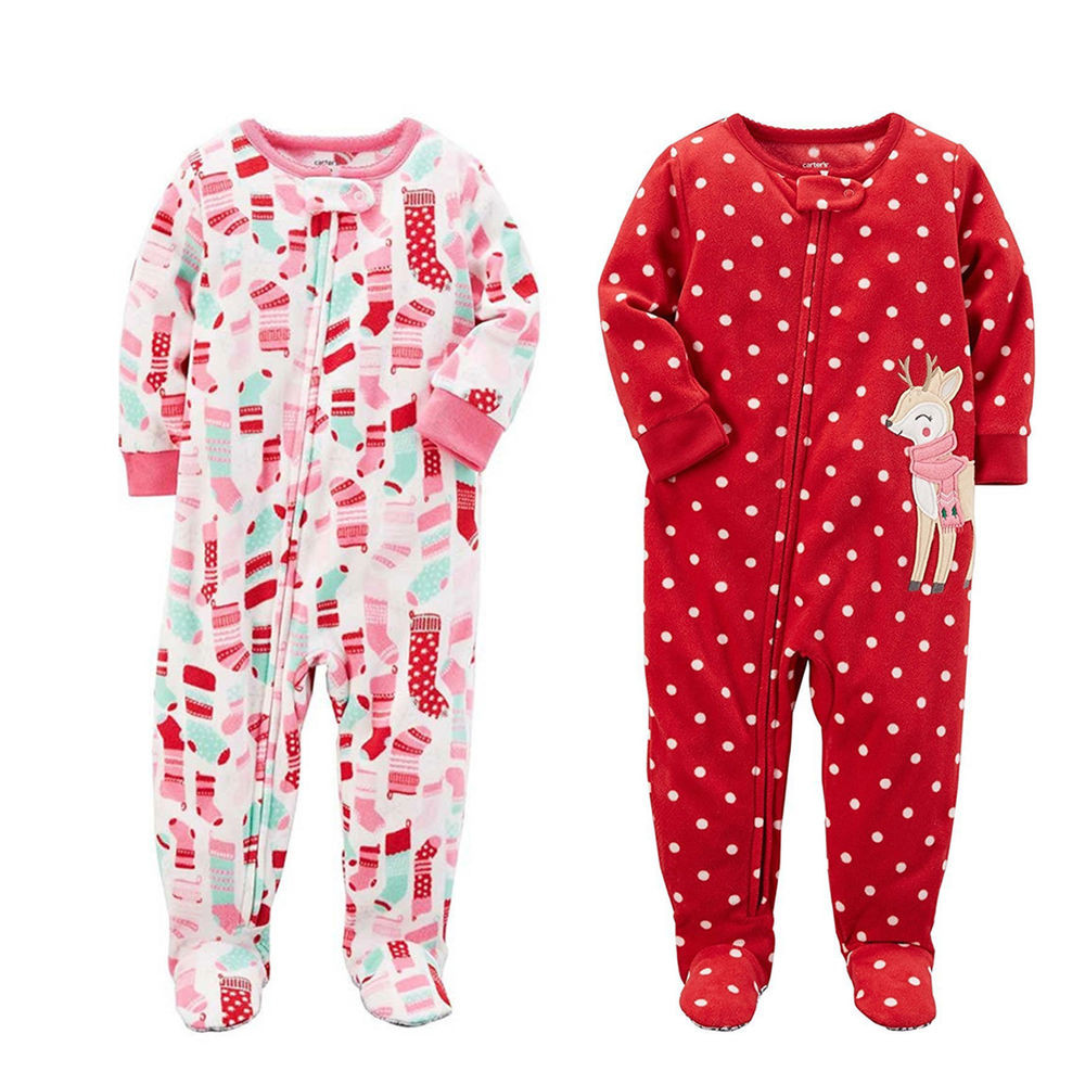 Baby Footed Pajamas Lovely Carter S Baby Girls E Piece Fleece Footed Pajama Of Amazing 42 Pictures Baby Footed Pajamas