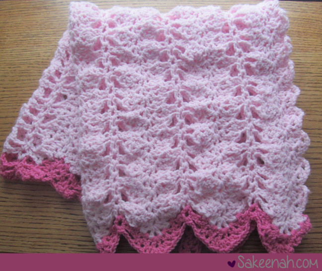 Baby Girl Crochet Blanket Patterns Elegant A Crocheted Pink Baby Girl Blanket Sakeenah Of Unique 41 Photos Baby Girl Crochet Blanket Patterns