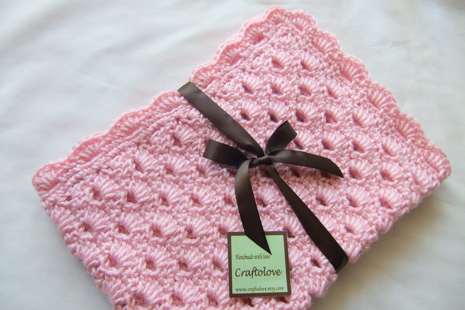 Baby Girl Crochet Blanket Patterns Lovely Baby Girl Blanket Crochet Baby Blanket Pink Arch Shells Of Unique 41 Photos Baby Girl Crochet Blanket Patterns