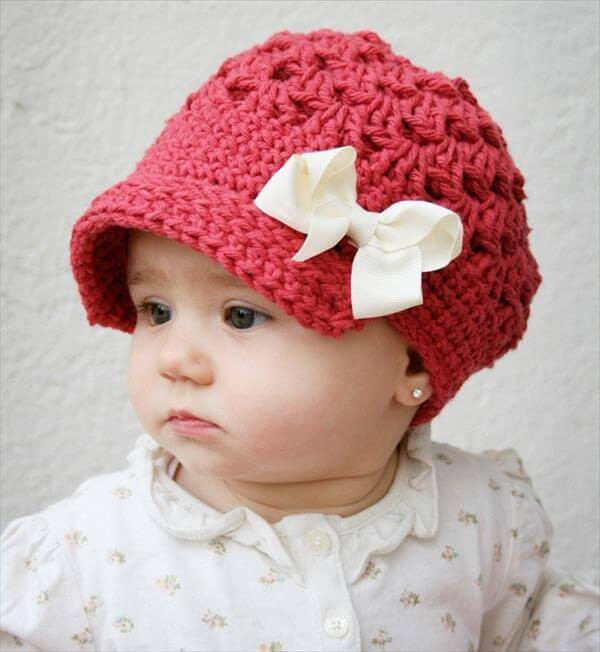 Baby Girl Crochet Patterns Beautiful 10 Easy Crochet Hat Patterns for Beginners Of Perfect 45 Models Baby Girl Crochet Patterns
