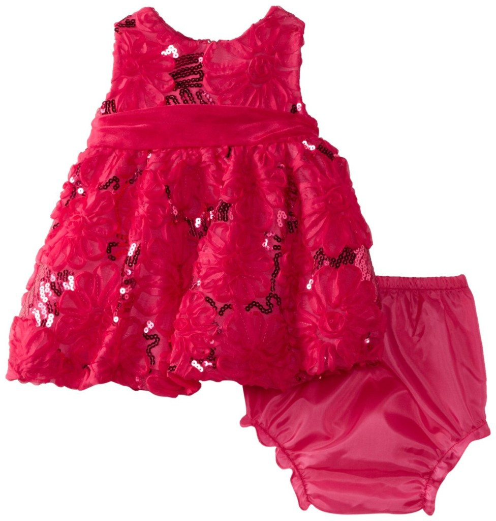 Baby Girl Dresses Fresh Rare Editions Baby Girls Newborn Sequin soutach Dress On Of Great 42 Pics Baby Girl Dresses