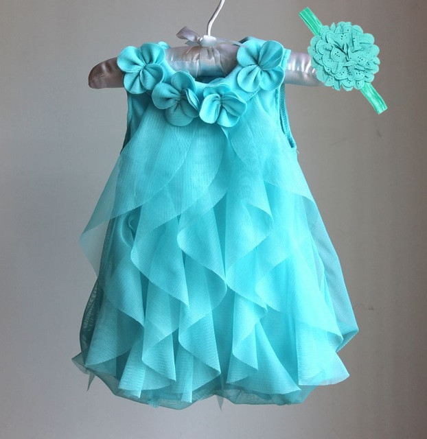 Baby Girl Dresses Inspirational Girls Dress 2017 Summer Chiffon Party Dress Infant 1 Year Of Great 42 Pics Baby Girl Dresses