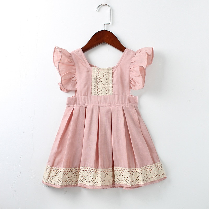 Baby Girl Dresses Lovely Baby Girls Dress Summer Beach Style Ruffles Lace Backless Of Great 42 Pics Baby Girl Dresses