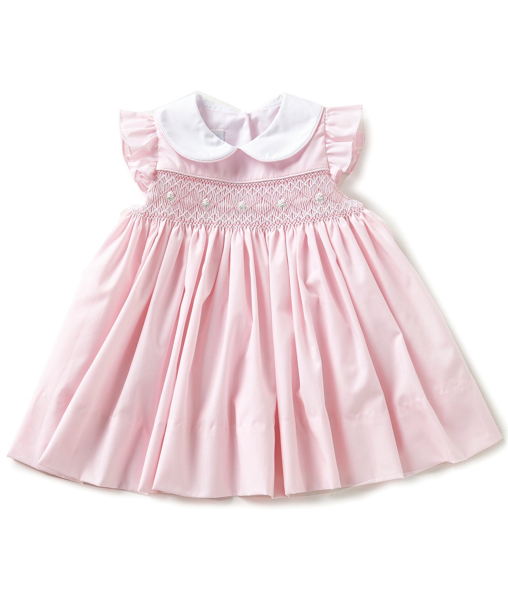 Baby Girl Dresses Lovely Edgehill Collection Baby Girls 3 24 Months Smocked Flutter Of Great 42 Pics Baby Girl Dresses