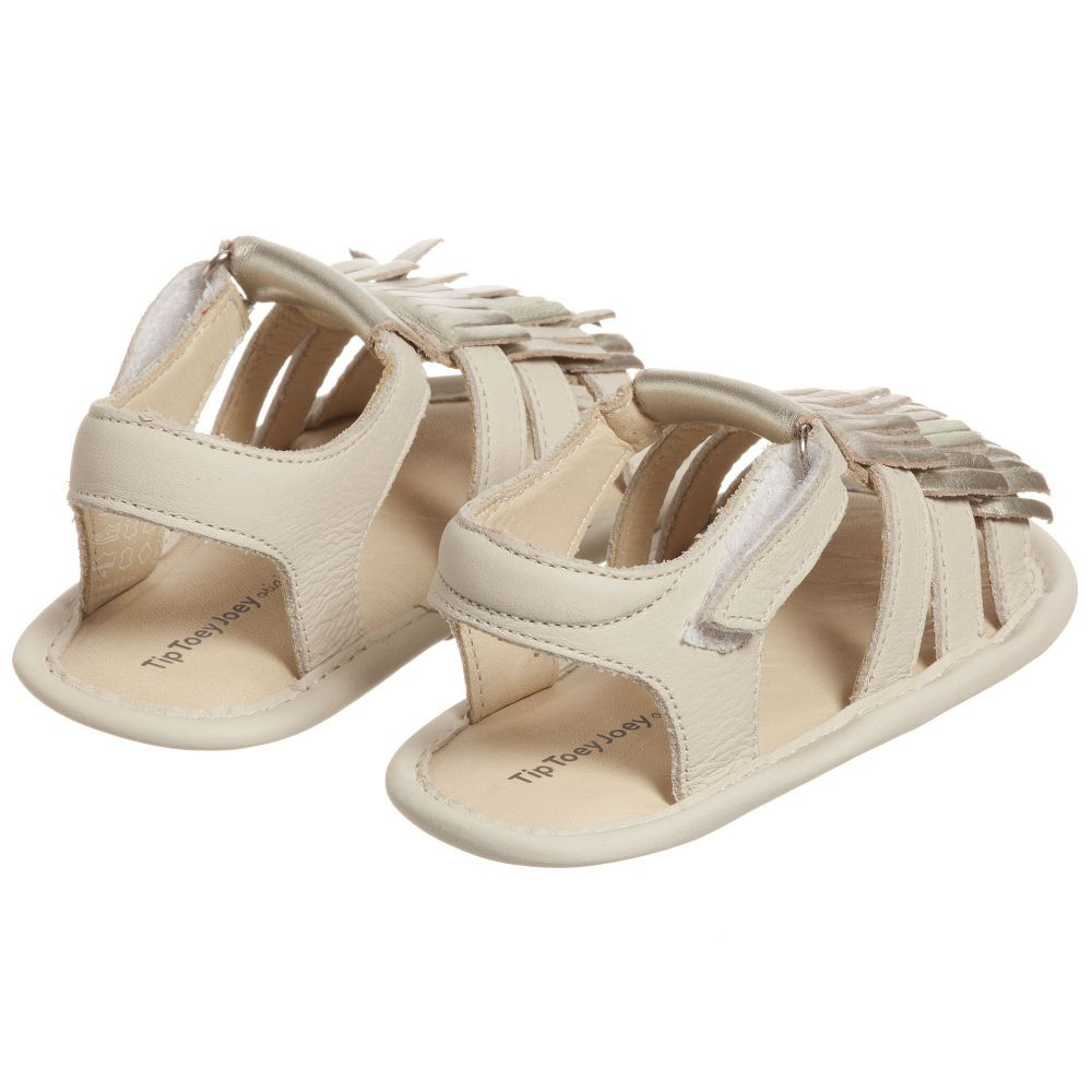 Baby Girl Sandals Beautiful Tip toey Joey Baby Girls Gold Fringed Sandals Of Lovely 44 Pictures Baby Girl Sandals