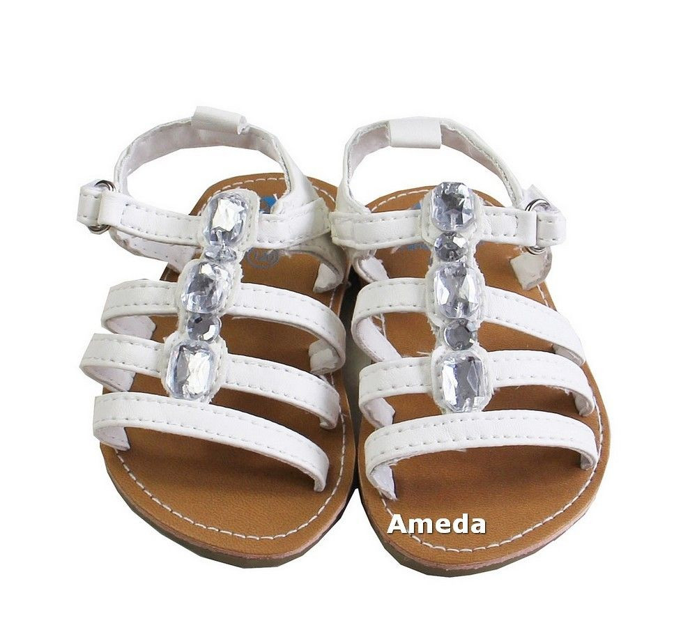 Baby Girl Sandals Lovely Baby Girls Summer Shiny Jewelled White Sandals Of Lovely 44 Pictures Baby Girl Sandals