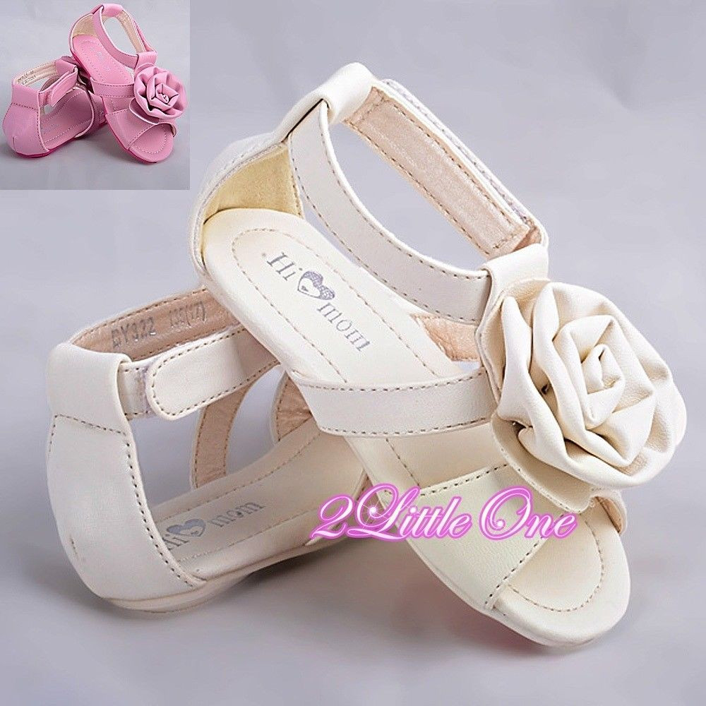 Baby Girl Sandals Luxury Rosette Sandals Shoes toddler Us Size 6 5 9 Wedding Flower Of Lovely 44 Pictures Baby Girl Sandals