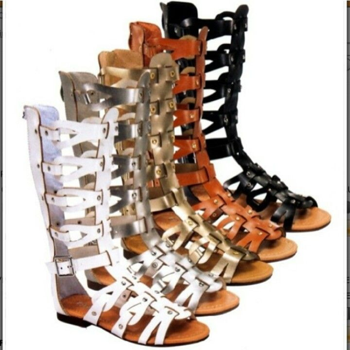 Tall Gladiator Sandals For Babies