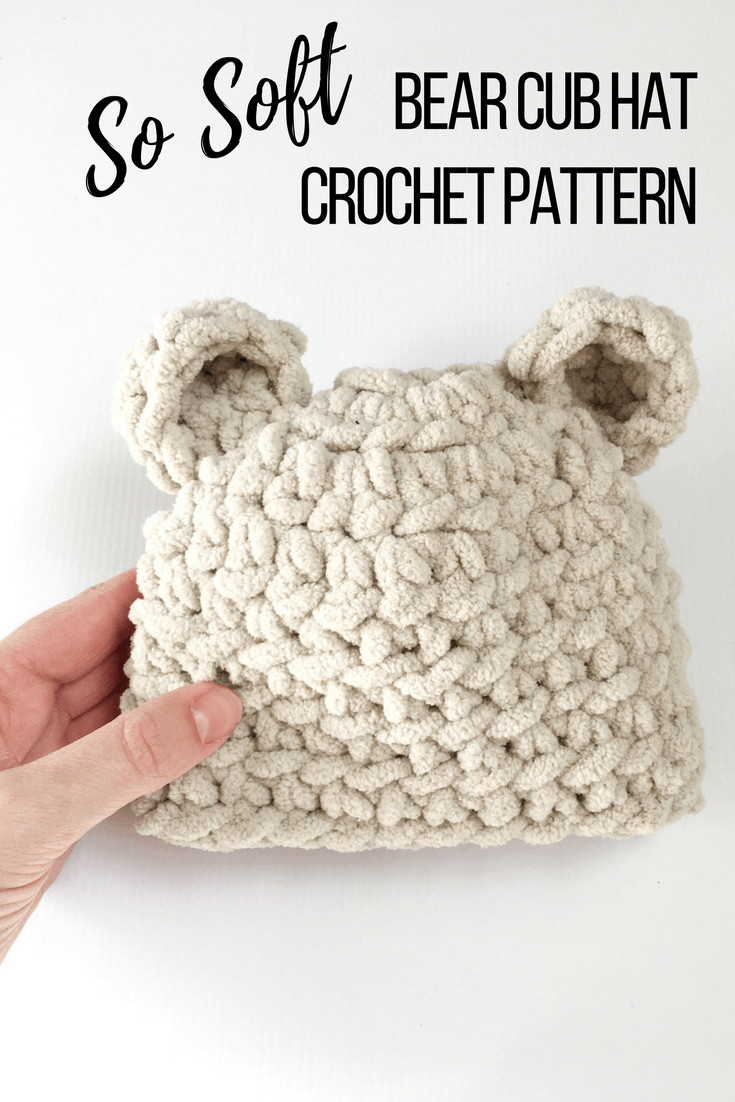 Baby Hat Crochet Pattern Fresh How to Make the softest Baby Bear Hat Crochet Pattern Of Wonderful 46 Pics Baby Hat Crochet Pattern