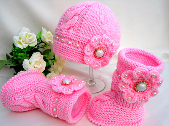 Baby Hat Knitting Pattern Lovely Knit Baby Hat Booties Patterns Of New 44 Pictures Baby Hat Knitting Pattern