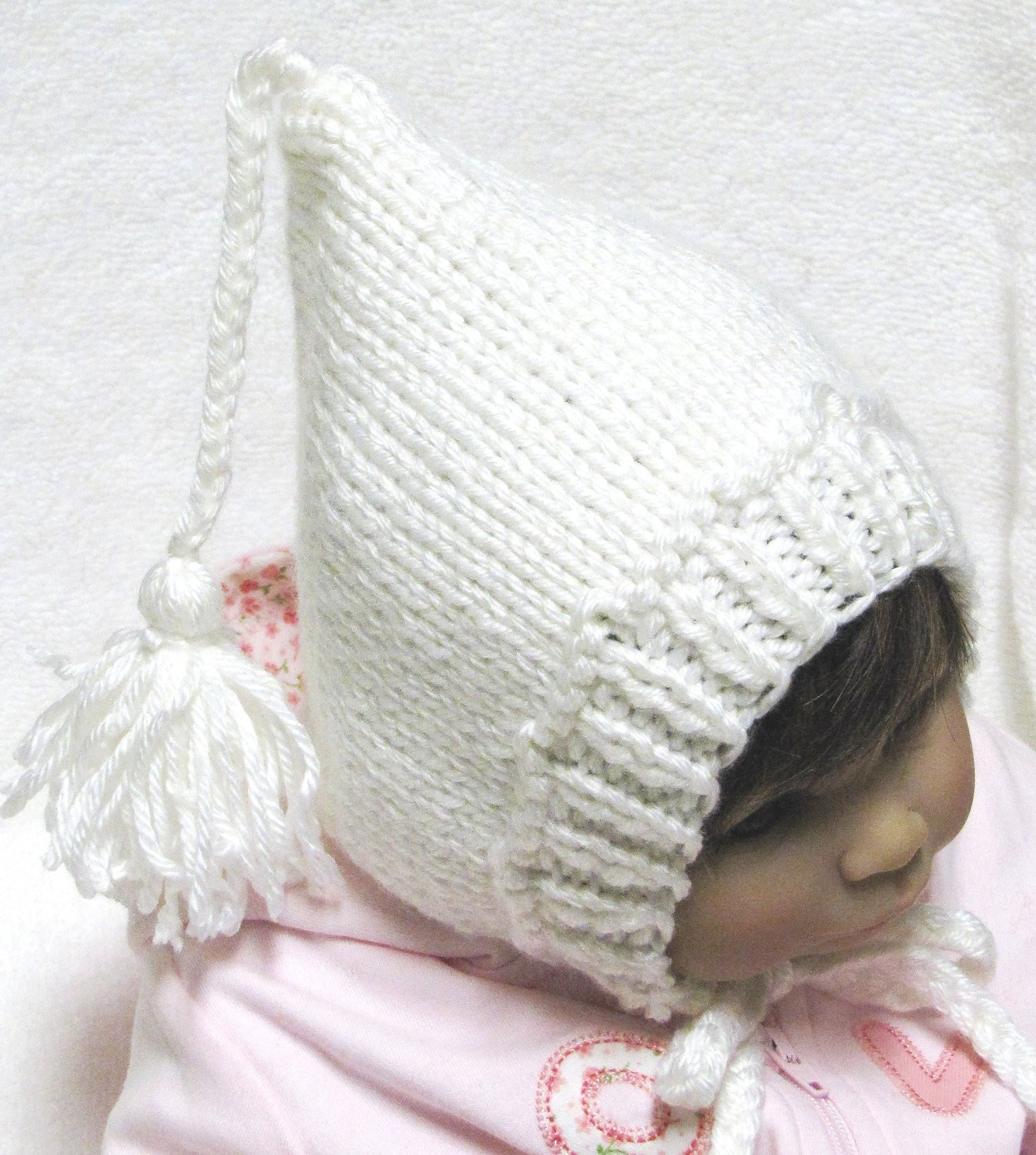 Baby Hat Knitting Pattern Unique Pixie Baby Hat Knitting Pattern with Tassel In 3 Sizes Pdf Of New 44 Pictures Baby Hat Knitting Pattern