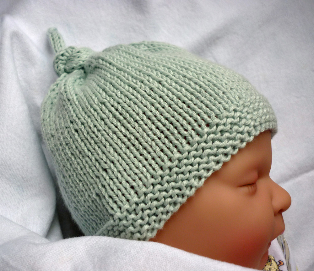Baby Hat Pattern New Mack and Mabel Free Knitting Pattern Baby Hat with top Knot Of Lovely 49 Pics Baby Hat Pattern