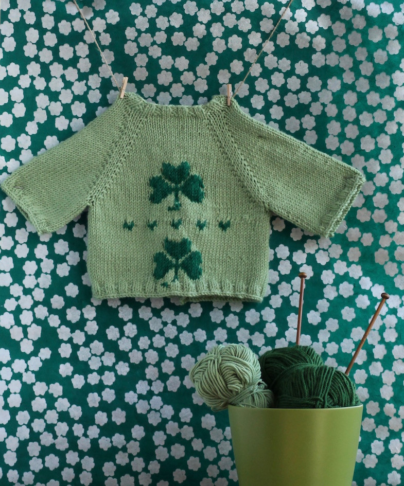 Baby Knitting Best Of Free Shamrock Baby Cardigan Knitting Pattern for St Of Unique 46 Ideas Baby Knitting