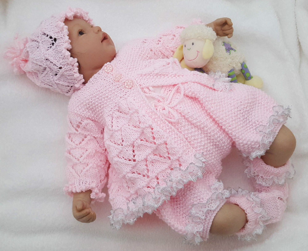 Baby Knitting Patterns Lovely Baby Knitting Pattern Dk 59 to Knit Girls or Reborn Dolls Of Attractive 50 Models Baby Knitting Patterns