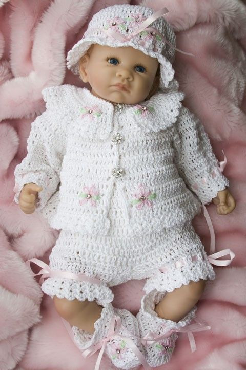Baby Layette Crochet Patterns Inspirational 455 Best Images About Baby Sets Crochet On Pinterest Of Wonderful 45 Pictures Baby Layette Crochet Patterns