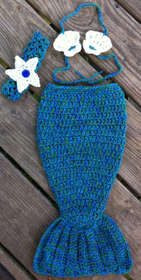 Free Crochet Pattern For Infant Mermaid Tail Dancox for