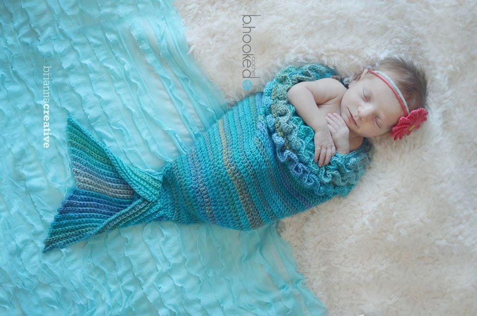 Baby Mermaid Crochet Pattern Elegant Free Mermaid Tail Crochet Patterns A Surprise for the Of Charming 42 Pictures Baby Mermaid Crochet Pattern