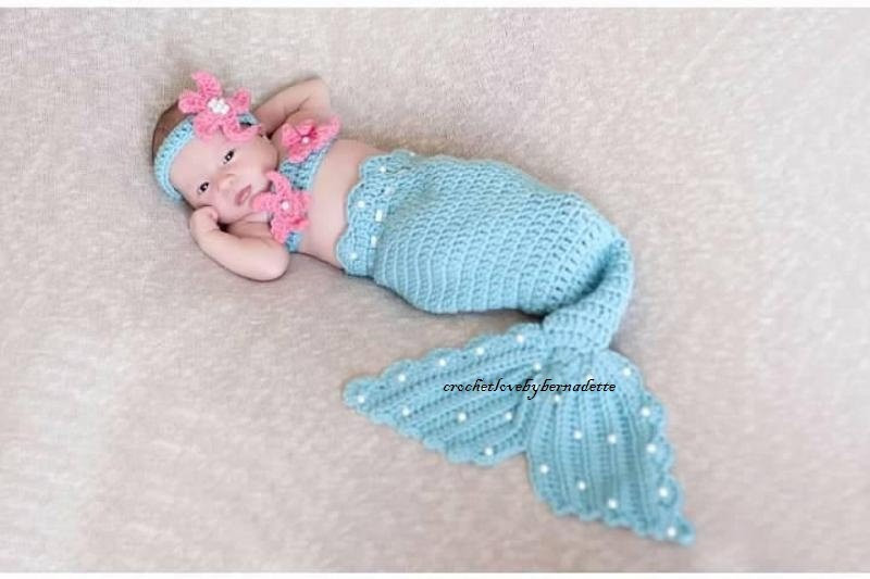Baby Mermaid Crochet Pattern Unique House Of Sass Crochet Pearls Mermaid Tail Prop Sets Made Of Charming 42 Pictures Baby Mermaid Crochet Pattern