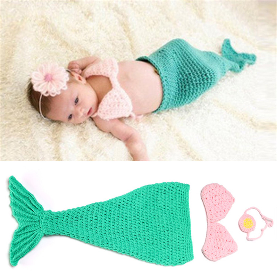 Baby Mermaid Tail Best Of Crochet Green Mermaid Newborn Baby Graphy Props Of Fresh 41 Pictures Baby Mermaid Tail