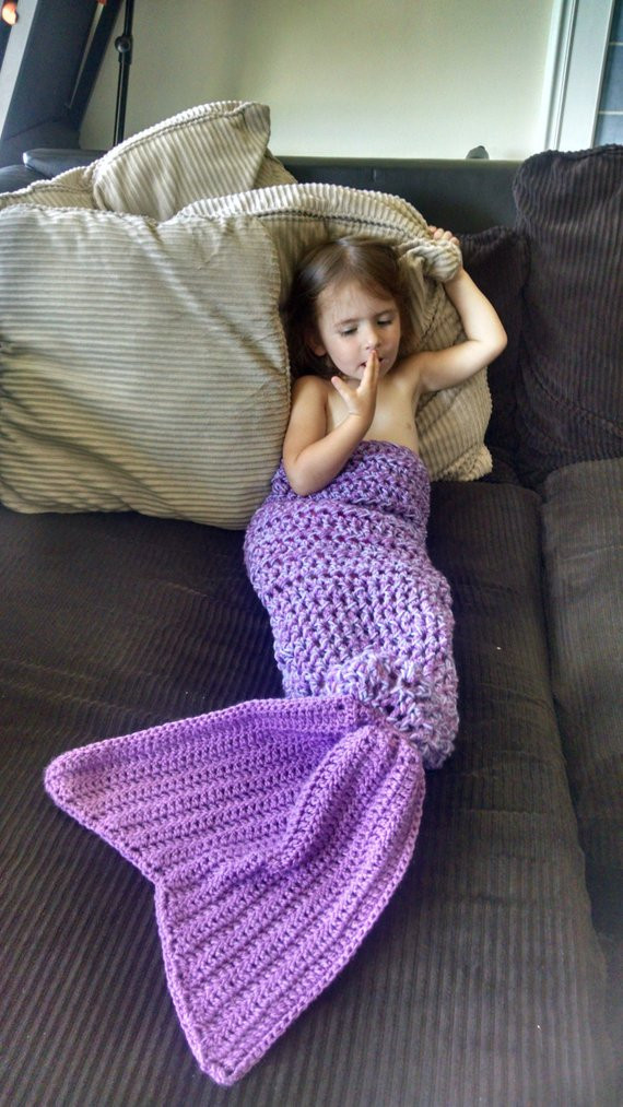 Baby Mermaid Tail Blanket Lovely Mermaid Tail Blanket Newborn to Adult Sizes Made to order Of New 40 Pics Baby Mermaid Tail Blanket