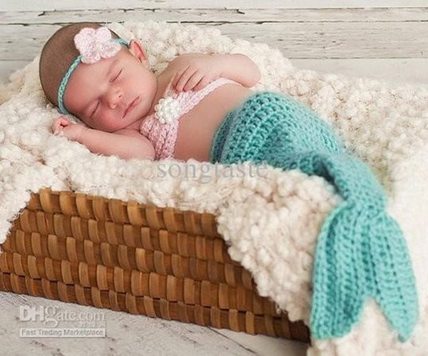 Baby Mermaid Tail Crochet Pattern Awesome Cool Crochet Patterns & Ideas for Babies Hative Of New 45 Photos Baby Mermaid Tail Crochet Pattern