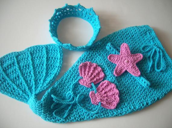 Baby Mermaid Tail Crochet Pattern Inspirational Free Crochet Pattern for Newborn Mermaid Outfit Dancox for Of New 45 Photos Baby Mermaid Tail Crochet Pattern