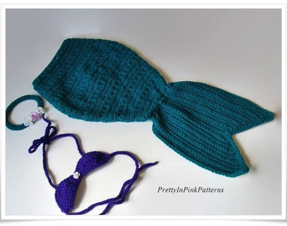 Baby Mermaid Tail Crochet Pattern Lovely Crochet Baby Mermaid Tail Pattern Of New 45 Photos Baby Mermaid Tail Crochet Pattern