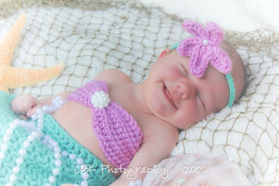 Baby Mermaid Tail Unique Crocheted Mermaid Tail Newborn Mermaid Outfit Baby by Of Fresh 41 Pictures Baby Mermaid Tail