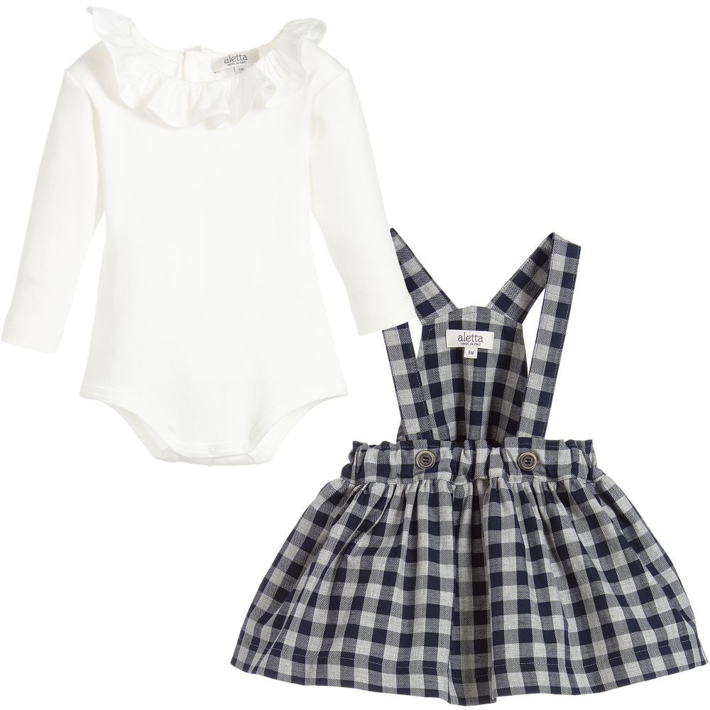 Baby Pinafore Dress Best Of Aletta Baby Girls Pinafore Dress Set Of Gorgeous 48 Models Baby Pinafore Dress