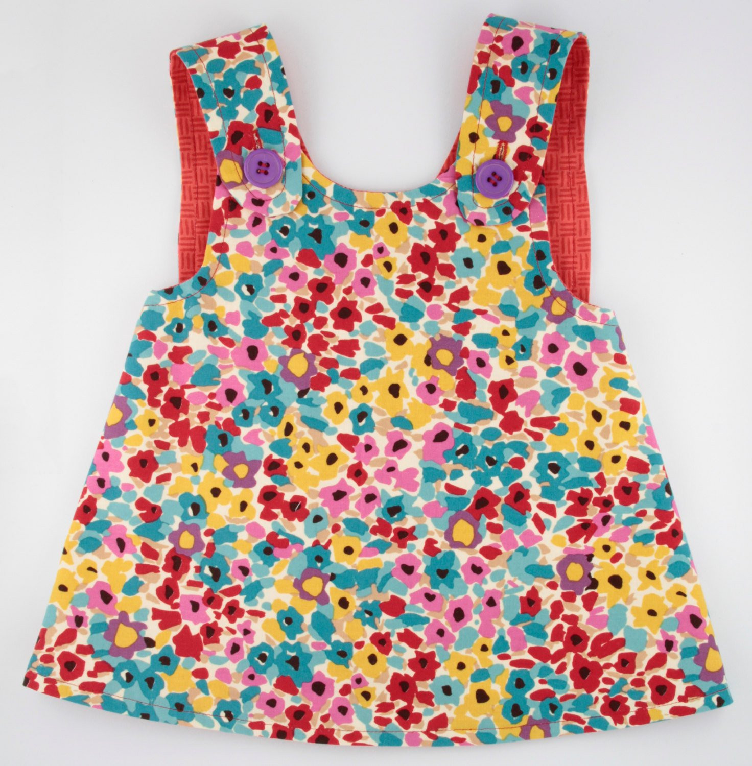 Baby Pinafore Dress Elegant Pinafore Dress toddler Reversible Multi Colored Flowers Of Gorgeous 48 Models Baby Pinafore Dress