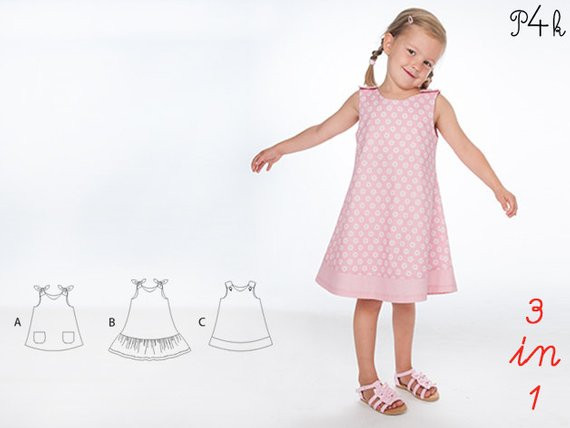 Baby Pinafore Dress Inspirational Eeefabricshop Girls Pinafore Dress Sewing Pattern Girls Of Gorgeous 48 Models Baby Pinafore Dress