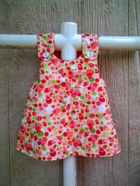 Baby Pinafore Dress Baby Summer Dress Baby Easter Dress