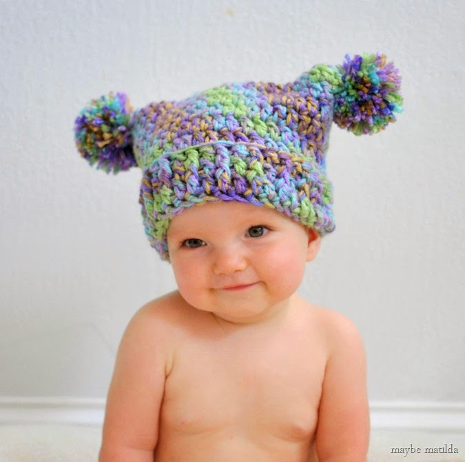 Baby Pom Pom Hat Inspirational Chic and Cozy these Baby Crochet Hats are Simply Adorable Of Gorgeous 49 Models Baby Pom Pom Hat