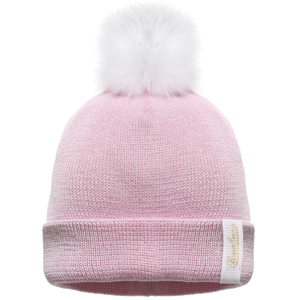 Baby Pom Pom Hat New Borsalino Girls Pink Cotton Knitted Baby Hat with Fur Of Gorgeous 49 Models Baby Pom Pom Hat