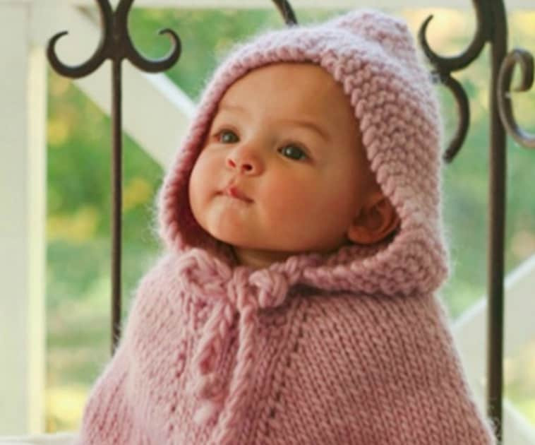 Baby Poncho Awesome Knitted Hooded Baby Poncho Pattern Free Of Innovative 43 Photos Baby Poncho