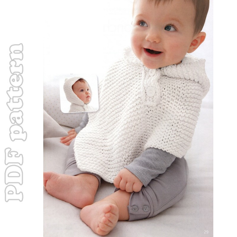 Baby Poncho Beautiful Super Quick and Easy Baby Hooded Poncho Pattern Pdf Of Innovative 43 Photos Baby Poncho