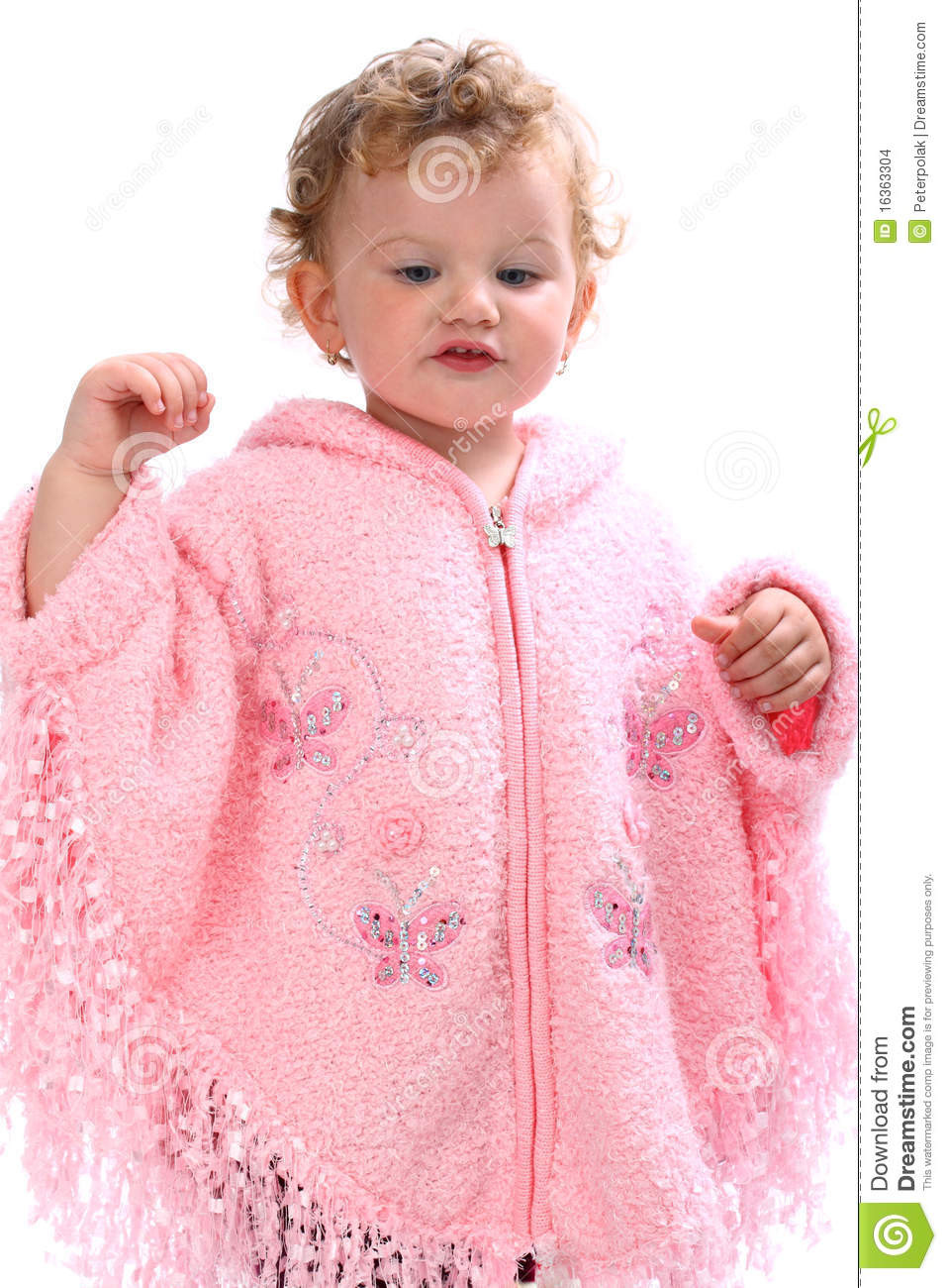 Baby Poncho Elegant Lovely Baby In Pink Poncho Looking Like An Angel Stock Of Innovative 43 Photos Baby Poncho
