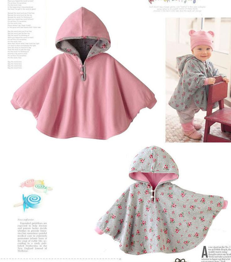 Baby Poncho Lovely Floral Print Newborn Baby toddlers Hood Cape Warm Winter Of Innovative 43 Photos Baby Poncho