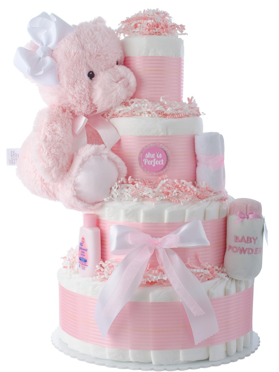 Baby Shower Diaper Cakes Beautiful She S Perfect Baby Shower Diaper Cakes Of Gorgeous 41 Ideas Baby Shower Diaper Cakes