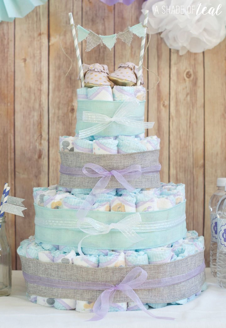 Baby Shower Diaper Cakes Fresh Rustic Glam Baby Shower Plus Make A Diaper Cake Of Gorgeous 41 Ideas Baby Shower Diaper Cakes