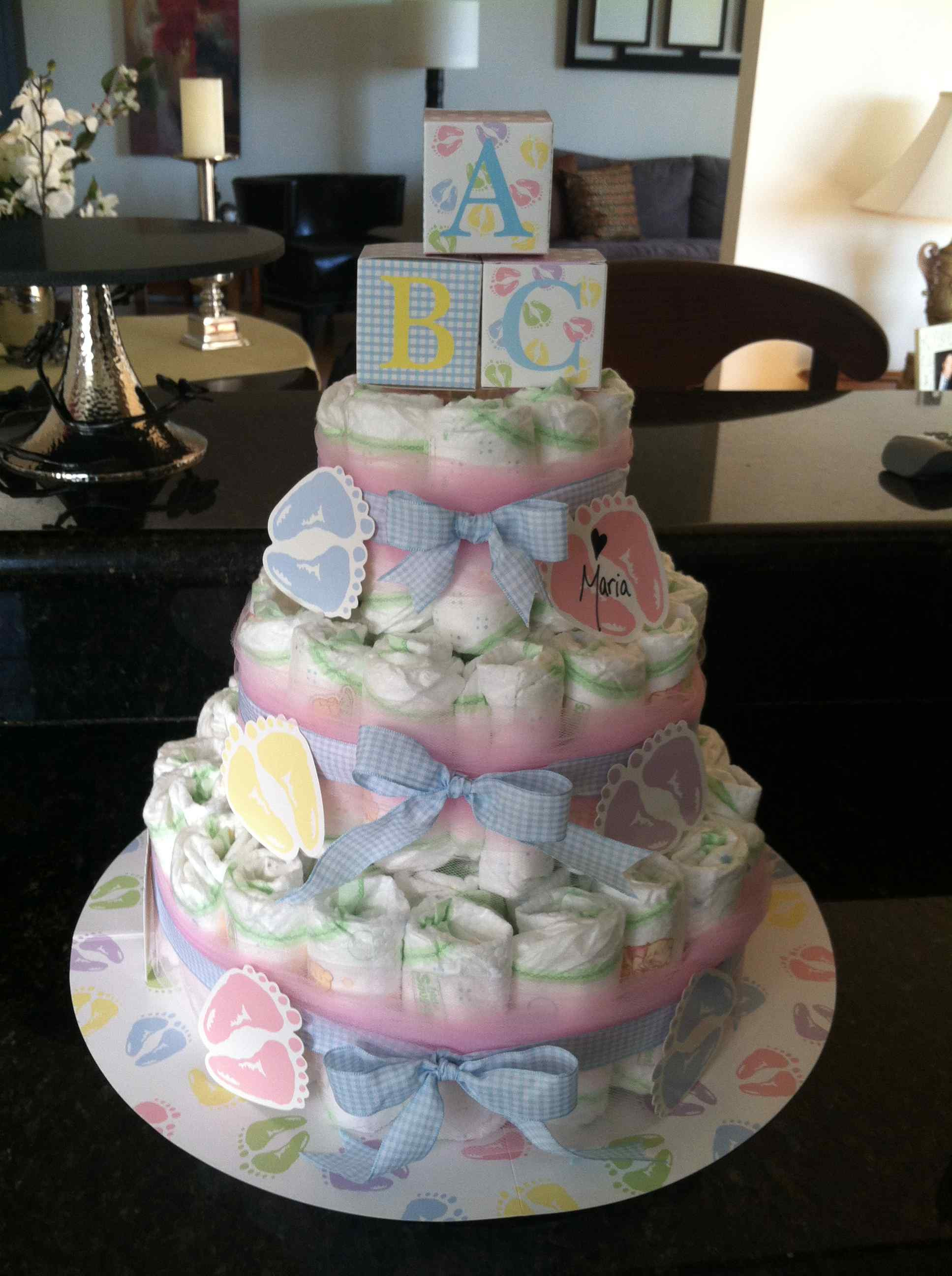 Baby Shower Diaper Cakes Inspirational Blue Baby Shower Diaper Cake Centerpiece Of Gorgeous 41 Ideas Baby Shower Diaper Cakes