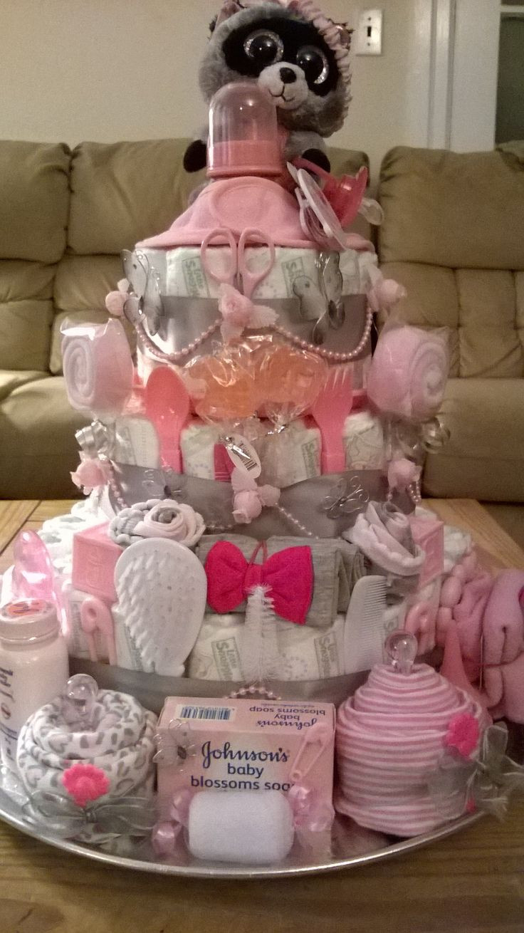 Baby Shower Diaper Cakes Lovely 1400 Best Diaper Cakes Images On Pinterest Of Gorgeous 41 Ideas Baby Shower Diaper Cakes