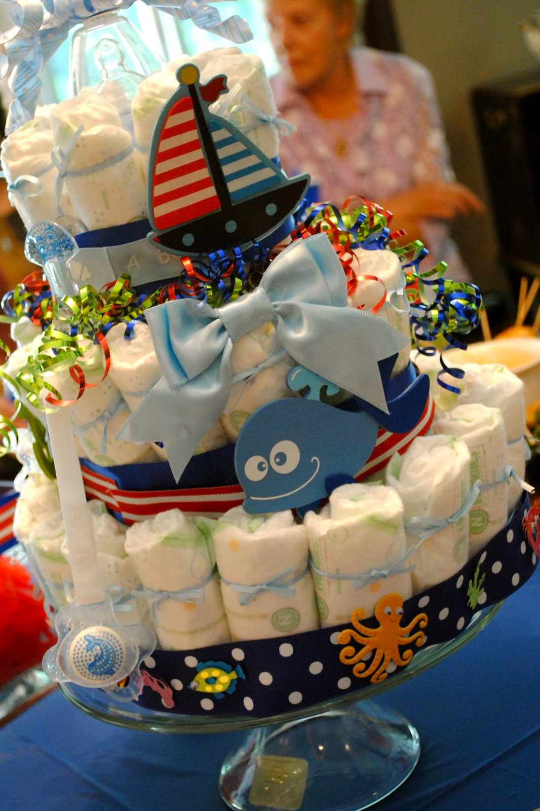 Baby Shower Diaper Cakes Luxury Nautical by Nature Nautical Diaper Cakes for Baby Showers Of Gorgeous 41 Ideas Baby Shower Diaper Cakes