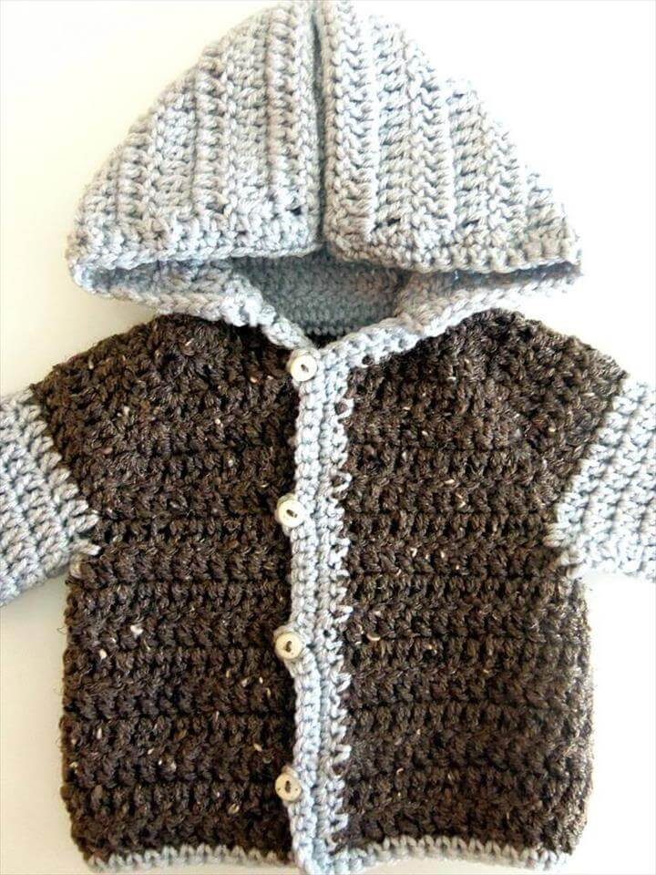 Baby Sweater Crochet Pattern Awesome 20 Super Easy Beginner Crochet Pattern Of Amazing 40 Photos Baby Sweater Crochet Pattern