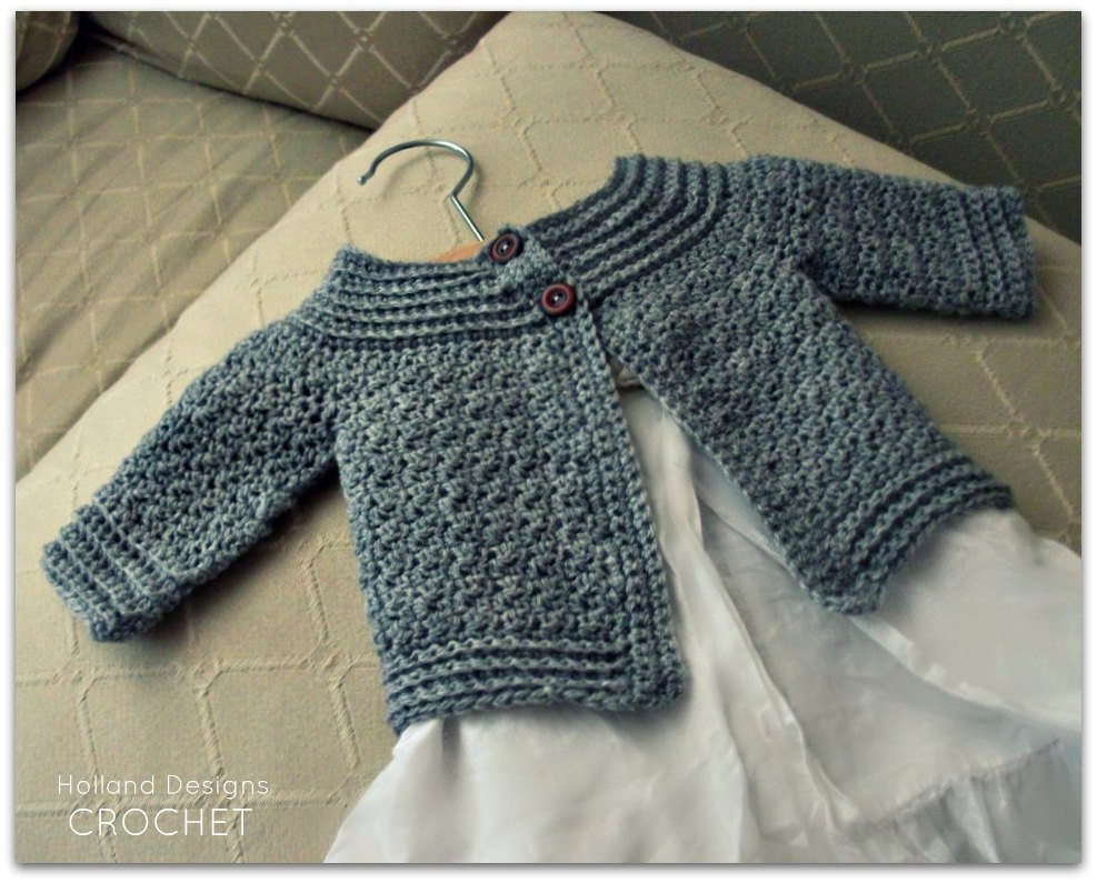Baby Sweater Crochet Pattern Lovely Download now Crochet Pattern Classic Baby Cardigan Sizes Of Amazing 40 Photos Baby Sweater Crochet Pattern