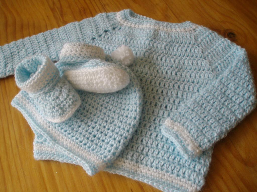 Baby Sweater Crochet Pattern New Baby Sweater Hat and Booties by Jenny Peters Craftsy Of Amazing 40 Photos Baby Sweater Crochet Pattern
