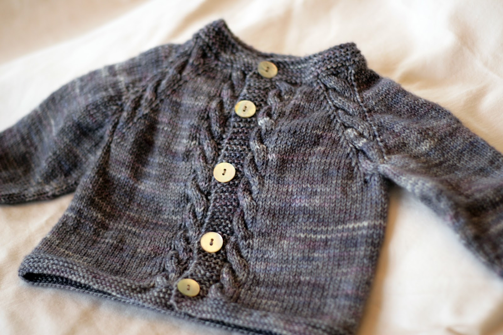 Getting Ready for Winter Pretty Knitted Baby Sweater Patterns