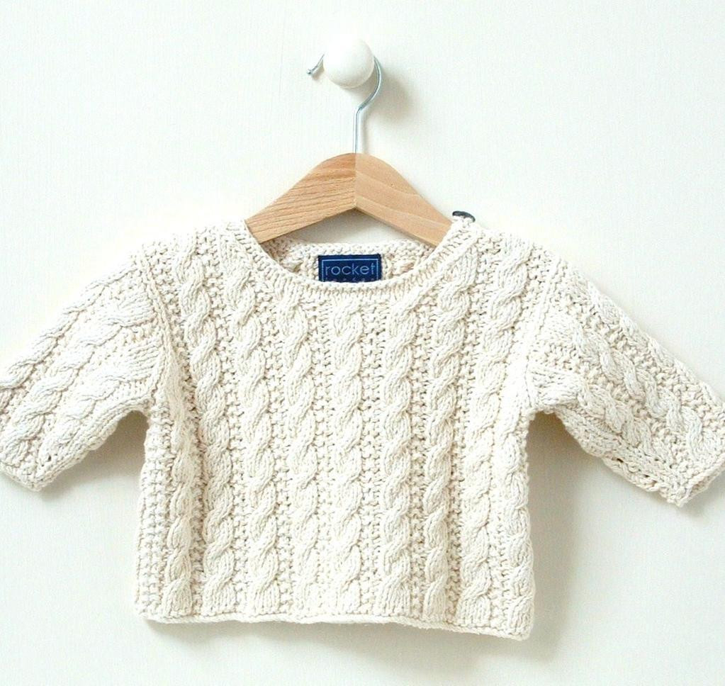 Baby Sweater Patterns Fresh Baby Sweater Mini Cable 0 4m 4 8m by Rocket London Craftsy Of Beautiful 41 Images Baby Sweater Patterns