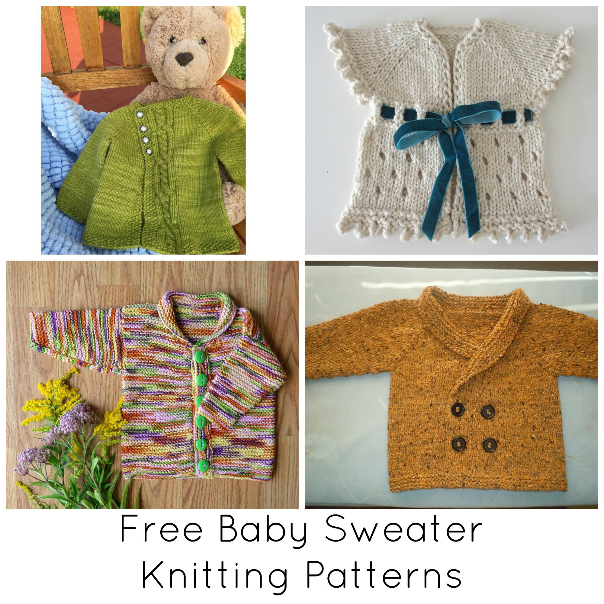 Baby Sweater Patterns Unique Our Favorite Free Baby Sweater Knitting Patterns Of Beautiful 41 Images Baby Sweater Patterns